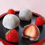 夏でも「いちご大福」を購入できる貴重な和菓子店♪