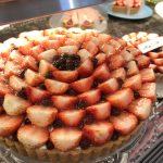 イチゴを通して季節を感じるカフェ「キル フェ ボン グランメゾン銀座」
